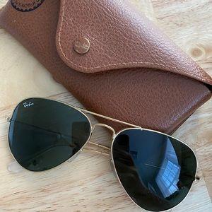 SOLD Ray-Ban Aviator Sunglasses